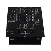 Gemini PS3-USB  DJ микшер 3 канала LINE/PHONO  3 -band EQ,   + MIC  вход 2 -band EQ , USB выход