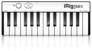 IK MULTIMEDIA iRig Keys Mini MIDI-клавиатура для iOS, Android, Mac и PC, 25 клавиш
