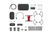 Квадрокоптер DJI MAVIC AIR Fly More Combo (EU) Flame Red, Красный