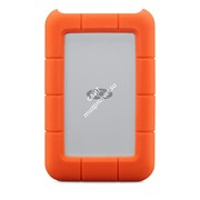 LaCie 500GB Rugged Thunderbolt & USB 3.0 SSD w integrated cable