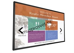 """Дисплей Multi-Touch Philips 75"""" 75BDL3010T/00 - фото 157357"""
