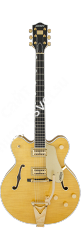 GRETSCH GUITARS G6122TFM Players Edition Country Gentleman® Bigsby®, Filter'Tron Pickups, Flame Maple, Amber Stain полуакустичес - фото 91982