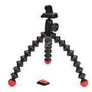 GorillaPod для фото и GoPro камер -  GorillaPod Action Tripod with Mount for GoPro (черный/красный)