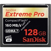 Sandisk Extreme Pro CompactFlash 128Gb (160/150 Mb/s)