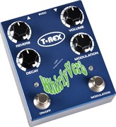 T-REX Whirly Verb Педаль эффектов Reverb для гитары (Volume, Reverb, Modulation, Decay)