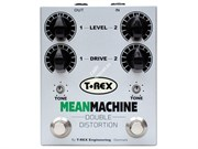 T-REX Mean Machine Педаль эффектов Double Distortion для гитары (Drive, Tone, Level)