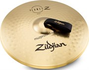 ZILDJIAN ZP16BPR 16' PLANET Z BAND PAIR W/ P0754 NYLON STRAPS оркестровые тарелки (пара)