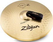 ZILDJIAN ZP18BPR 18' PLANET Z BAND PAIR W/ P0754 NYLON STRAPS оркестровые тарелки (пара)