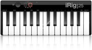 IK MULTIMEDIA iRig Keys 25 USB MIDI-клавиатура для Mac и PC, 25 клавиш