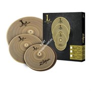 "ZILDJIAN LV348 L80 Low Volume 13"" HiHat/14"" Crash/18"" Crash Ride Box Set набор тарелок"