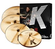 ZILDJIAN K CUSTOM DARK 5 PC CYMBAL SET набор тарелок (14' HiHat, 16' Crash, 20' Ride, 18' Crash)