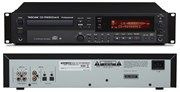 Tascam CD-RW900 MK2  CD-рекордер CD/MP3 плеер, RCA coax/optic in/out, CD-Text, 24-bit A/D and D/A converters, pitch 16%, Auto Cue function, 2U, 4.3 kg., пульт ДУ