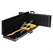 FENDER G&G Standard Mustang/Jag-Stang/Cyclone Hardshell Case, Black with Black Acrylic Interior Кейс для электрогитары