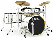 TAMA MK52HLZBNS-SGW SUPERSTAR HYPER-DRIVE MAPLE SUGAR WHITE ударная установка из 5-ти барабанов, цвет белый (покрытие пленкой)