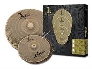 "ZILDJIAN LV38 Low Volume 13"" HiHat/18"" Crash Ride набор тарелок"
