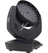 GLP VOLKSLICHT 60 Zoom RGB (black) LED moving head, 60 Luxeon rebel LEDs (R18xG21xB21), зум, строб, диммер, DMX адрес 001,180W