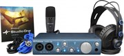 PreSonus AudioBox iTwo Studio комплект для звукозаписи в составе AudioBox iTwo, Studio One Artist + Capture Duo for iPad, микрофон M7, наушники HD7