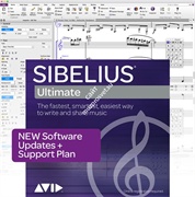 Avid Sibelius | Ultimate 1-Year Software Updates + Support Plan NEW (Electronic Delivery)
