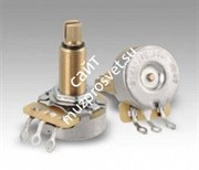 DIMARZIO CUSTOM TAPER POTENTIOMETER 500K LONG SHAFT EP1201L потенциометр с удлинённым штоком, 500 кОм
