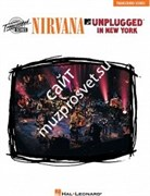 HAL LEONARD 672405 NIRVANA - UNPLUGGED IN NEW YORK нотный сборник