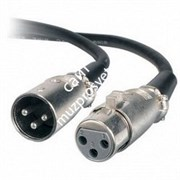 CHAUVET DMX3P10FT DMX Cable 3-метровый кабель DMX, 3pin XLR разъемы