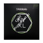 D'ADDARIO NYXL45105 Bass, Light Top / Med Bottom, 45-105 струны для бас-гитары