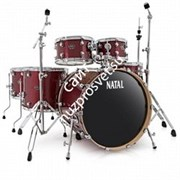 NATAL KAR-F20-RDS ARCADIA DRUM SET FUSION 20 PACK WITH HARDWARE RED SPARKLE ударная установка из 5-ти барабанов