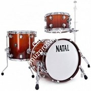 NATAL KAR-TJ-SNB ARCADIA DRUM SET TRADITIONAL JAZZ WITH HARDWARE SUNBURST LACQUER ударная установка из 4-х барабанов (том том 12