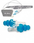 VIC FIRTH VICEARPLUGR VICEARPLUG High-Fidelity Hearing Protection- Regular Size (BLUE) беруши, обычный размер (синие)