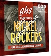 GHS R+RXL/L NICKEL ROCKERS набор струн для электрогитары, никель, 9-46