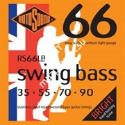 ROTOSOUND RS66LB BASS STRINGS STAINLESS STEEL струны для басгитары, сталь, 35-90