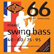 ROTOSOUND RS66LC BASS STRINGS STAINLESS STEEL струны для басгитары, сталь, 40-95