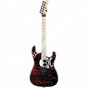 Charvel Warren DeMartini Signature San Dimas®, Maple Fingerboard, Skulls Электрогитара именная Warren DeMartini, аэрография