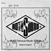ROTOSOUND NP014 STAINLESS STEEL PLAIN одиночная струна для электрогитары 014