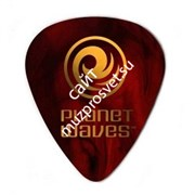 PLANET WAVES 1CSH7-25 Shell Color Celluloid Extra Heavy медиатор (упак. 25 шт.)